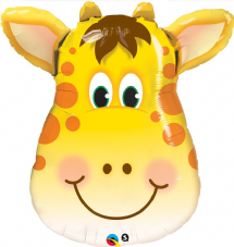 Jolly Giraffe Super Shape Foil Balloon